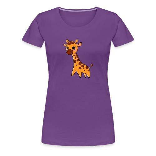 Mini Giraffe - Women's Premium T-Shirt