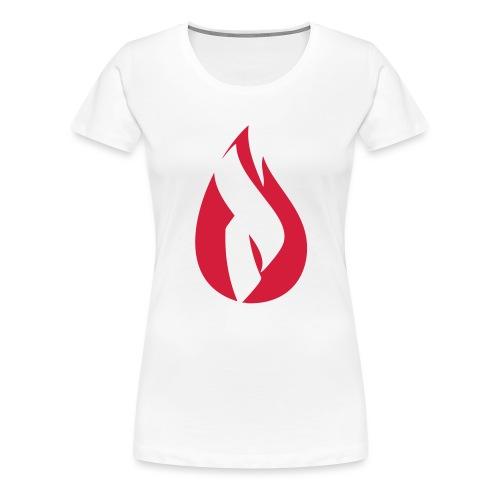 Pyro Logo - Einfarbig - Frauen Premium T-Shirt