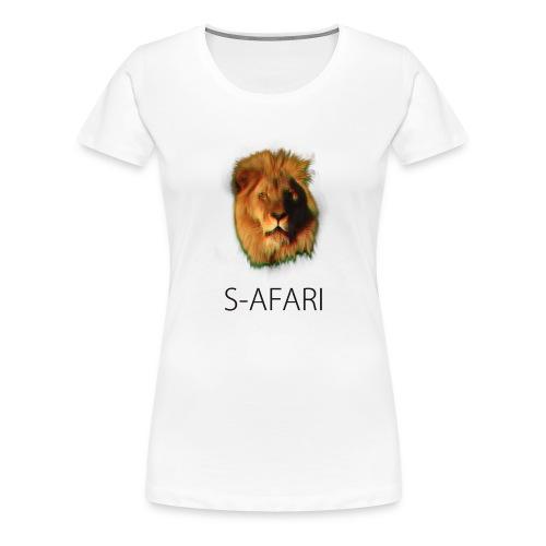 S-AFARI Lion - Women's Premium T-Shirt