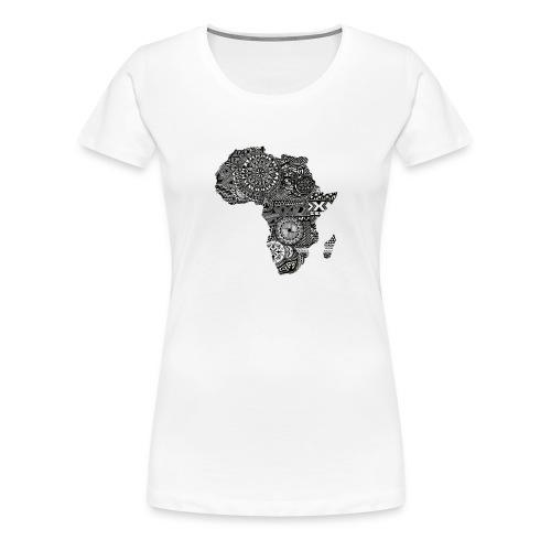 frica png - Women's Premium T-Shirt