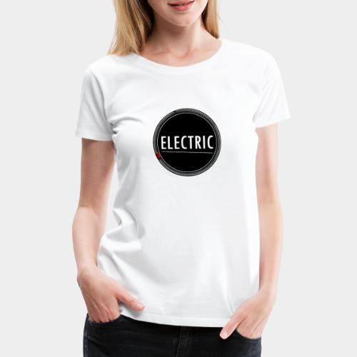 Electric red light - Frauen Premium T-Shirt
