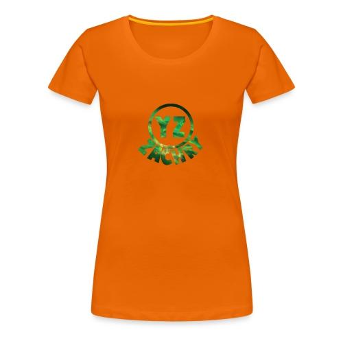 YZ-thank top kids - Vrouwen Premium T-shirt