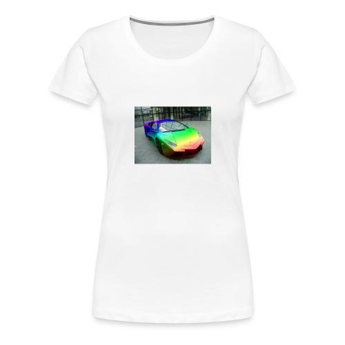 bakgrund - Premium T-skjorte for kvinner