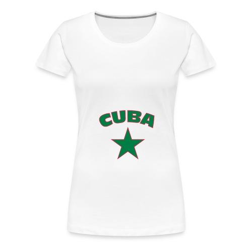 CUBA ! - T-shirt Premium Femme