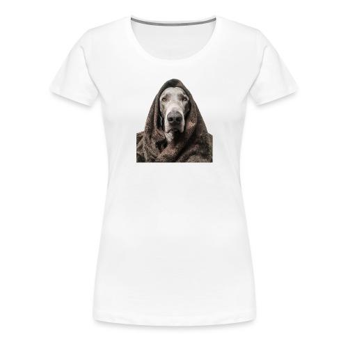 Weimaraner-Fake-Fur - Frauen Premium T-Shirt