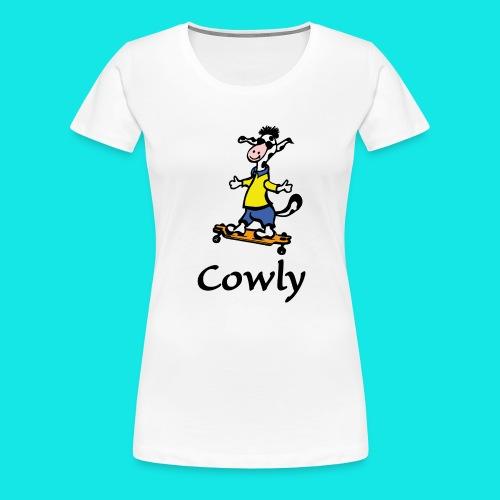 Cowly Longboard - Frauen Premium T-Shirt