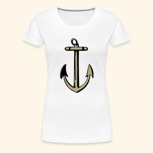 Ancla-anchor - Camiseta premium mujer