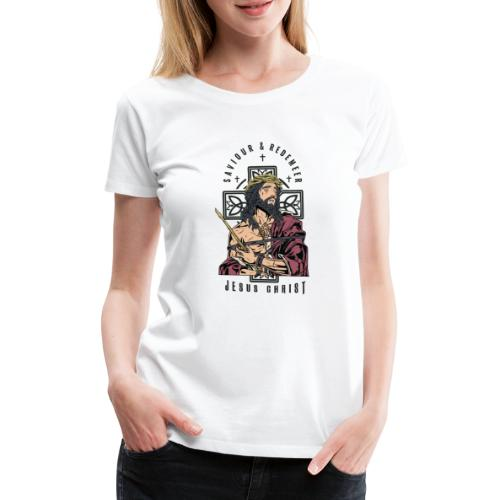 Jesus Christ - Women's Premium T-Shirt