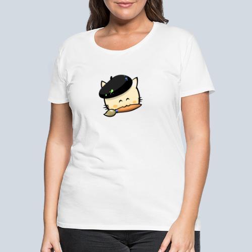 cat HD png - T-shirt Premium Femme