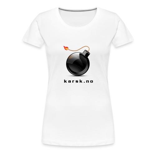 tskjorte02 - Premium T-skjorte for kvinner