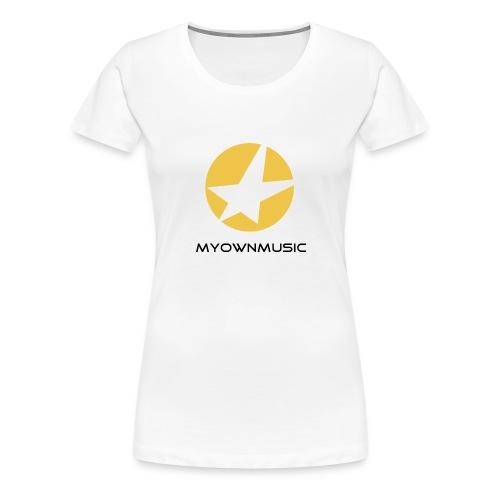 MOM Logo Schwarz - Frauen Premium T-Shirt