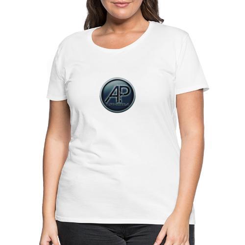 Logo Aphobia 3 - Vrouwen Premium T-shirt