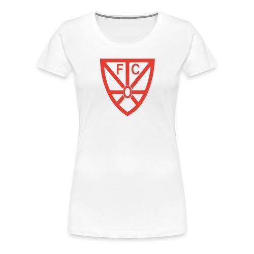 FCRWO Logo rot ohne hintergrund png - Frauen Premium T-Shirt