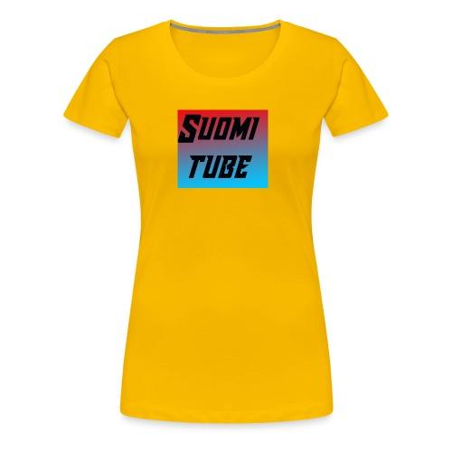 SuomiTube - Naisten premium t-paita