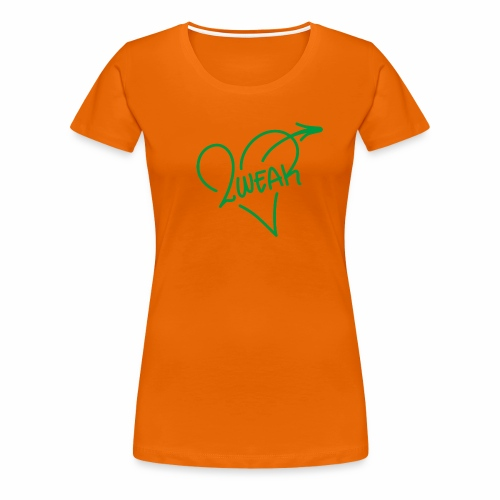 Love for a green life - Dame premium T-shirt