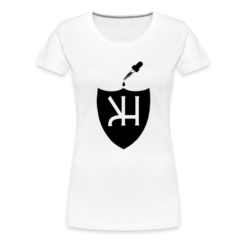 kahvimuki - Naisten premium t-paita