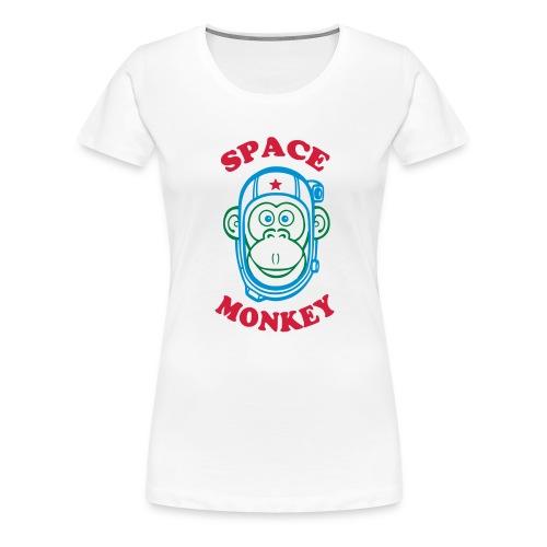 Space Monkey - T-shirt Premium Femme