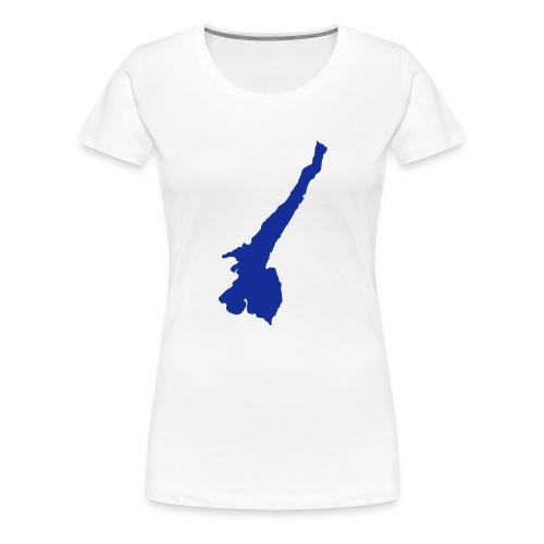 Gardasee - Frauen Premium T-Shirt