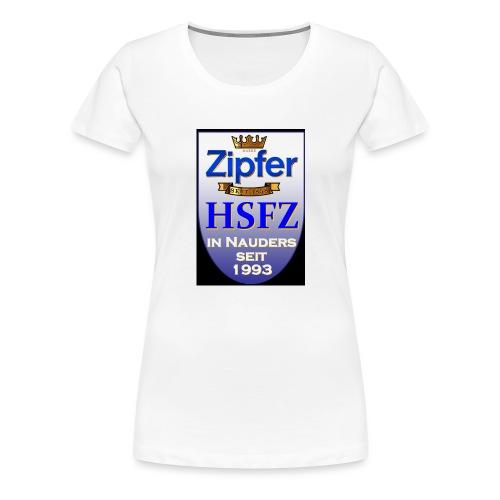 hsfz2013logofront orig - Frauen Premium T-Shirt