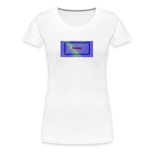 TV.COM - Naisten premium t-paita