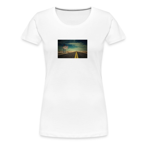 las vegas hd - Frauen Premium T-Shirt
