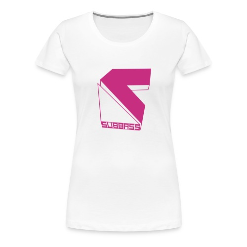 SUBBASS DUBSTEP LABEL LOGO - Frauen Premium T-Shirt