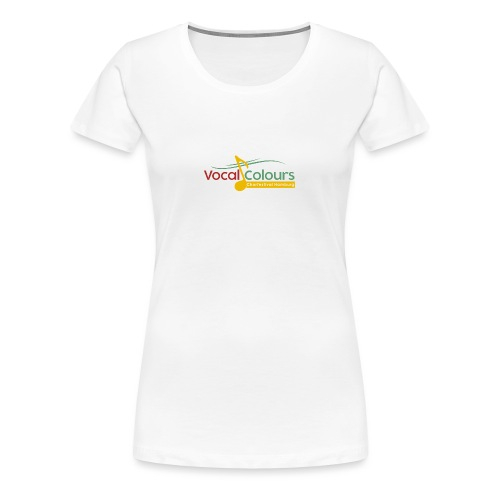 Vocal Colours Chorfestival Hamburg - Frauen Premium T-Shirt
