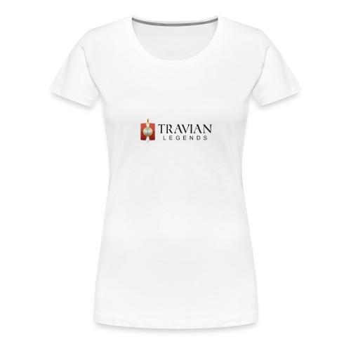 Travian Legends Logo - Women's Premium T-Shirt
