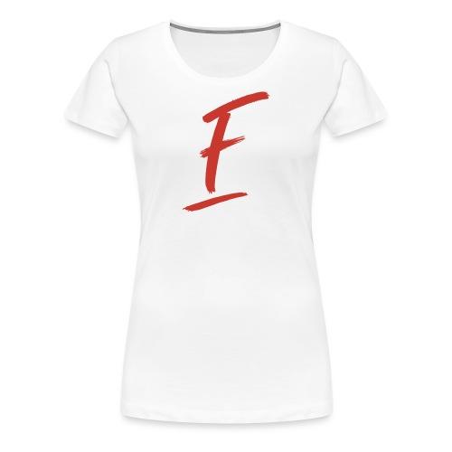 Radio Fugue F Rouge - T-shirt Premium Femme