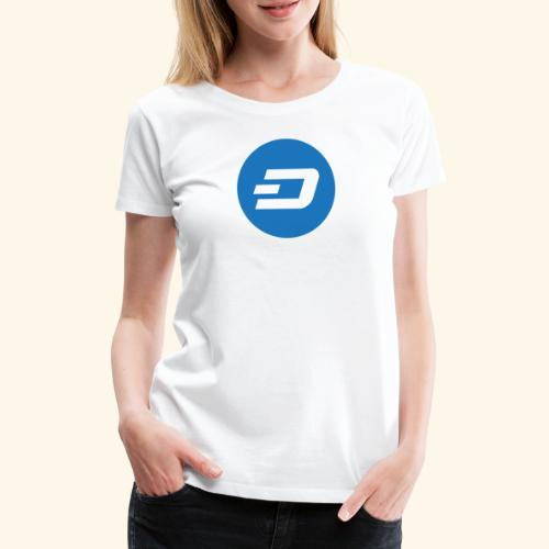 Dash Logo 2 - Frauen Premium T-Shirt