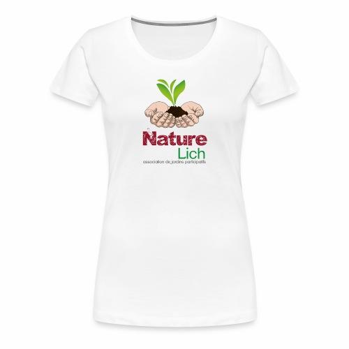 Nature'lich - T-shirt Premium Femme