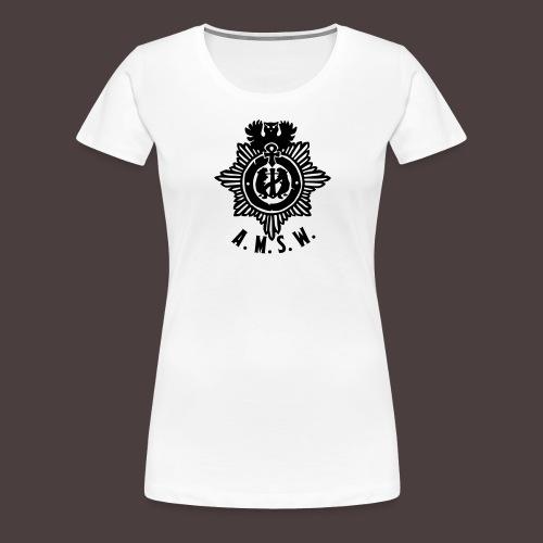 diesntmarke-small - Frauen Premium T-Shirt