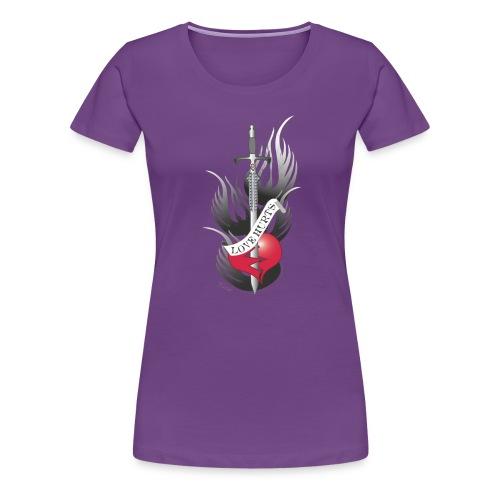 Love Hurts 3 - Liebe verletzt - Frauen Premium T-Shirt