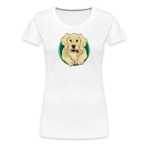 Hunde Portrait - Labrador Welpe - Frauen Premium T-Shirt