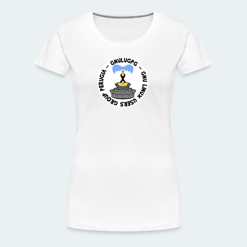 LUG Perugia - Maglietta Premium da donna