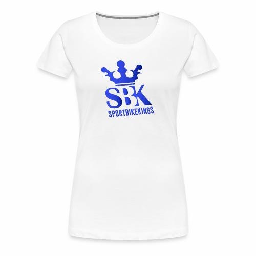 SBK blue - Frauen Premium T-Shirt