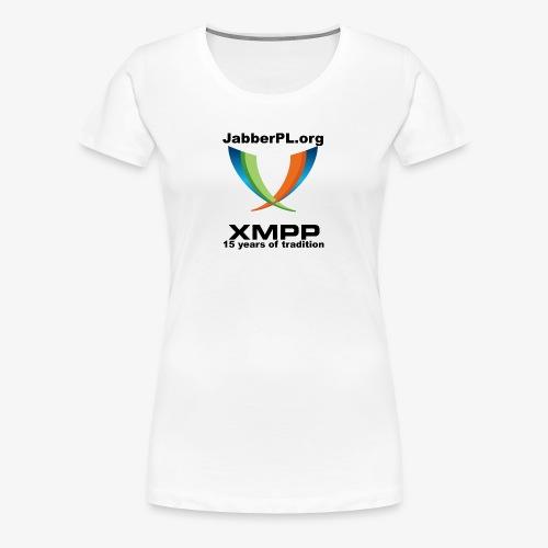 JabberPL.org XMPP - Women's Premium T-Shirt