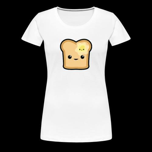 Toast logo - Frauen Premium T-Shirt