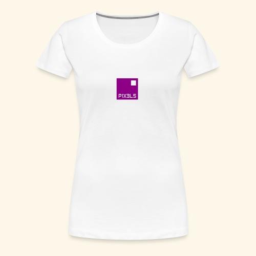 pixels - T-shirt Premium Femme