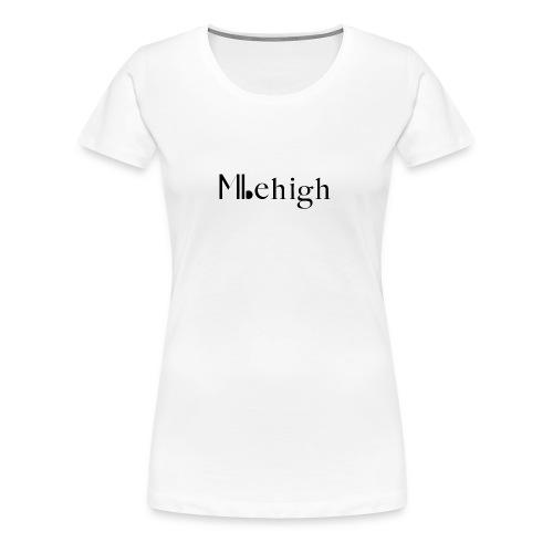 Milehigh Rags Logo Black - Premium T-skjorte for kvinner