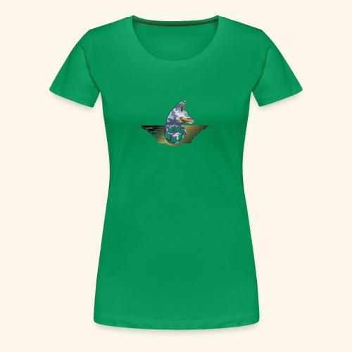 warrior fox - Maglietta Premium da donna