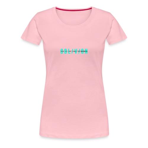 OBL/V/ON white - Maglietta Premium da donna
