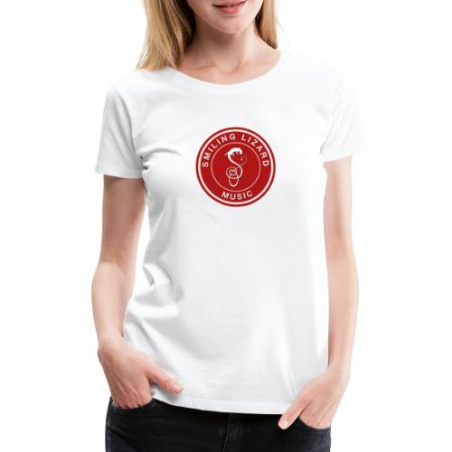Smiling Lizard Music Logo - Frauen Premium T-Shirt