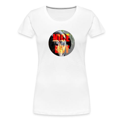 NICE BOY - Camiseta premium mujer