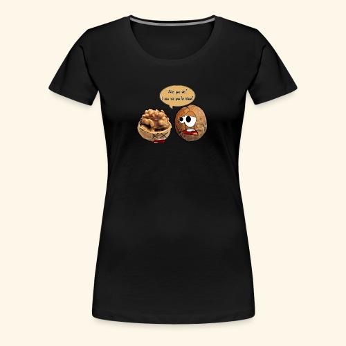 The nuts problem - Maglietta Premium da donna