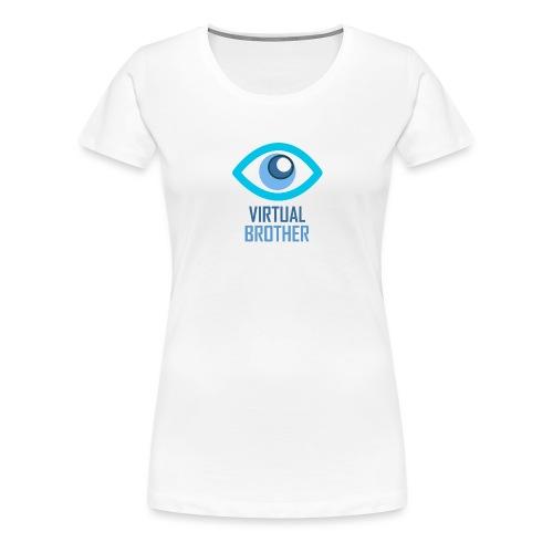 LOGOVIRTUALBROTHER - Camiseta premium mujer
