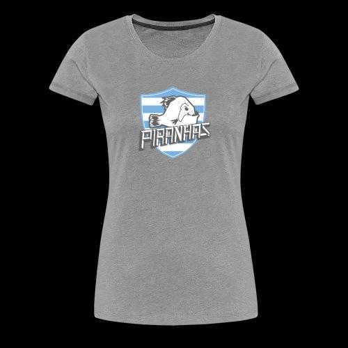 Logo Piranhas v5 - T-shirt Premium Femme