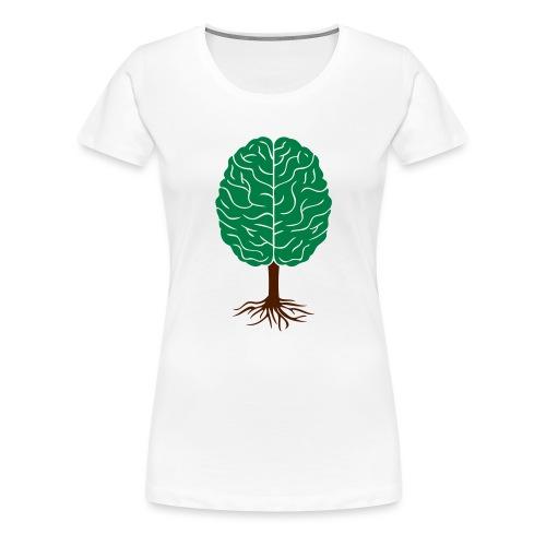Brain tree - Vrouwen Premium T-shirt