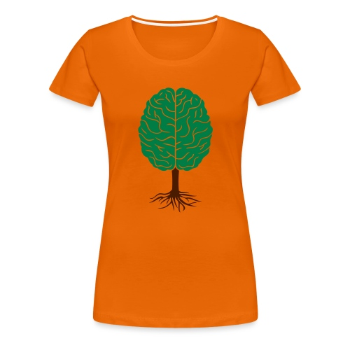 Brain tree - Vrouwen Premium T-shirt