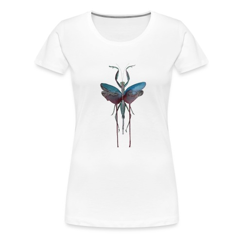 mante religieuse - T-shirt Premium Femme